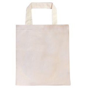 Natural Convention Tote with Short Strap - Blank (15