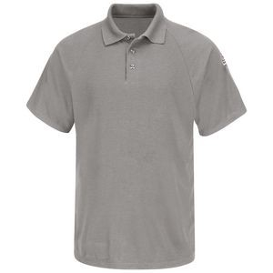 Bulwark� Men's Flame Resistant Short Sleeve Classic Polo Shirt